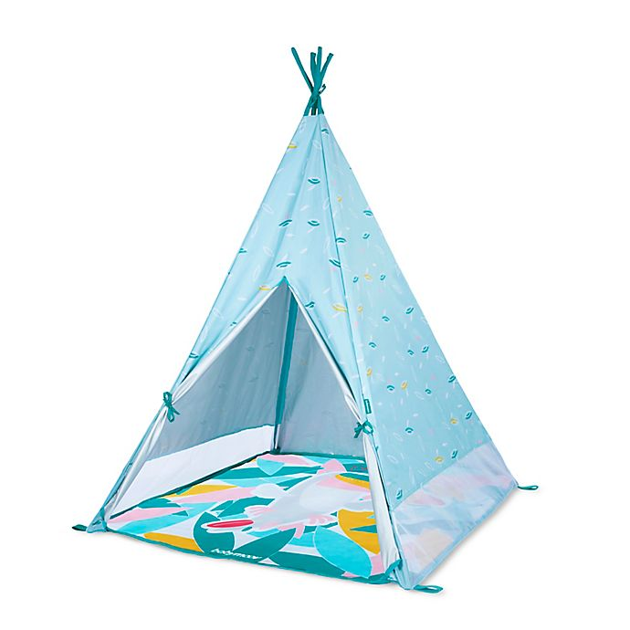 Alternate image 1 for babymoov® Teepee Tent with Play Mat in Blue