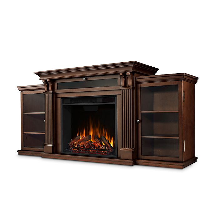 Alternate image 1 for Real Flame® Calie 67-Inch Freestanding Media Console Electric Fireplace