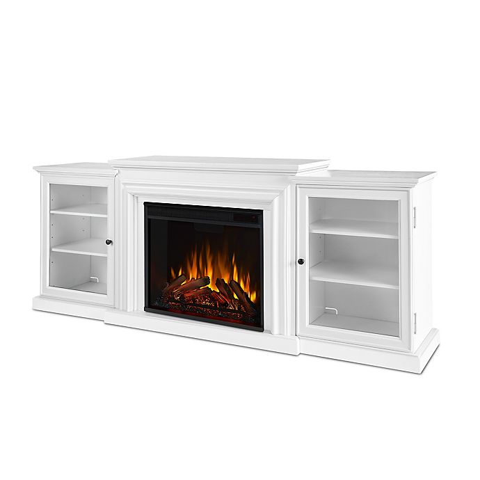 Alternate image 1 for Real Flame© Frederick Electric Fireplace in White