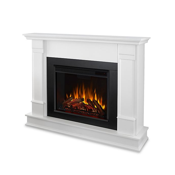 Alternate image 1 for Real Flame® Silverton Electric Fireplace in White