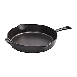 Staub 11-Inch Enameled Cast Iron Traditional Skillet