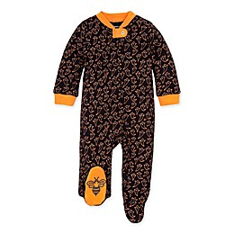 Burt's Bees Baby® Boo Organic Cotton Sleep and Play Footie in Marigold