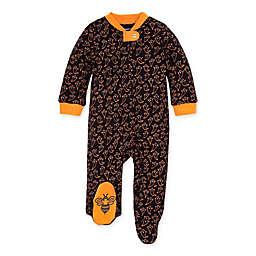 Burt's Bees Baby® Boo Organic Cotton Sleep and Play Footie in Marigold