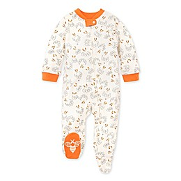 Burt's Bees Baby® Gobble Gobble Organic Cotton Sleep 'N Play in Carrot