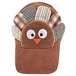 Addie & Tate Newborn Turkey Cap in Brown