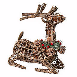 Bee & Willow™ Home 12-Inch Wire Lightup Potpourri Deer in Natural