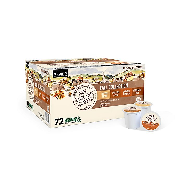 Alternate image 1 for New England Coffee® Fall Collection Variety Pack Keurig® K-Cup® Pods 72-Count