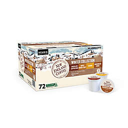 New England Coffee® Winter Collection Variety Pack Keurig® K-Cup® Pods 72-Count