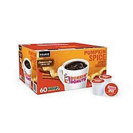 Dunkin' Donuts® Pumpkin Spice Flavored Coffee Keurig® K-Cup® Pods 60-Count