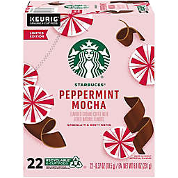 Starbucks® Peppermint Mocha Coffee Keurig® K-Cup® Pods 22-Count