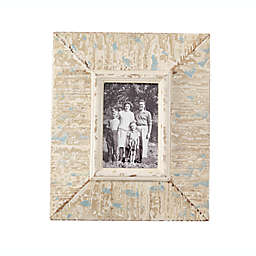 Mud Pie® Rustic Picture Frame in Grey