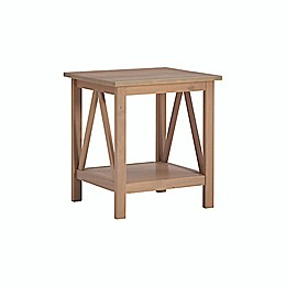 Dylan Driftwood End Table