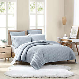 UGG® Dawn 2-Piece Twin Quilt Set in Chambray