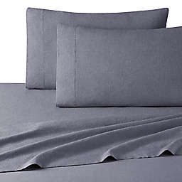 UGG® Devon Garment Washed King Sheet Set in Navy