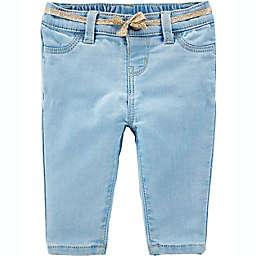 OshKosh B'gosh® Knit Denim Jeans in Porcelain Blue