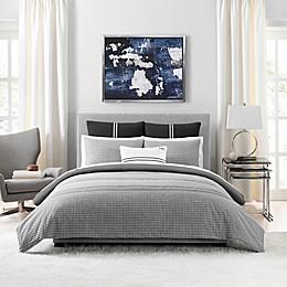 Tommy Hilfiger® Global Jacquard 3-Piece Reversible Comforter Set in Grey