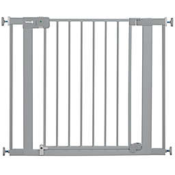 Safety 1st® Tension Mount Auto-Close Safety Gate in Grey