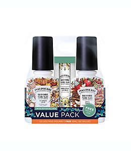 Desodorantes en aerosol Poo-Pourri® Before-You-Go® aroma otoñal, 3 piezas