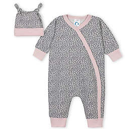 Gerber® 2-Piece Poppy Coverall and Cap Set in Blue