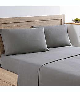 Set de sábanas king de franela Bee & Willow™ Home color gris carbón