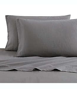 Juego de sábanas king Bee & Willow™ Home de franela en gris carbón