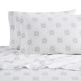 Bee & Willow™ Home Isle Snowflake Flannel Sheet Set