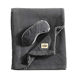 UGG® Coco 2-Piece Travel Set in Charcoal