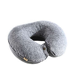 UGG® Pinecreek Faux Fur U-Neck Travel Pillow in Charcoal