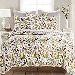 Folk Festival 3-Piece Reversible Quilt Set