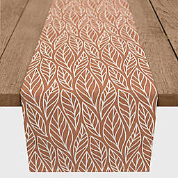 Designs Direct Leaf Pattern Table Runner in Copper