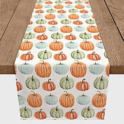 Multicolor Pumpkins Table Runner
