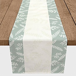 Designs Direct Always Thankful Table Runner in Green