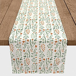 Designs Direct Autumn Things Table Runner in Green