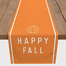 "Designs Direct ""Happy Fall"" Table Runner in Orange"