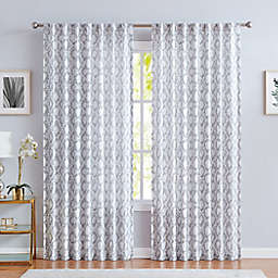 Vince Camuto® Orli 84-Inch Window Panel in Grey