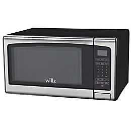 Willz 1.1 cu. ft. Microwave Oven in Stainless Steel