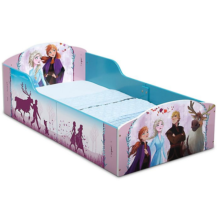 Alternate image 1 for Delta Children Disney® Frozen II Wooden Toddler Bed