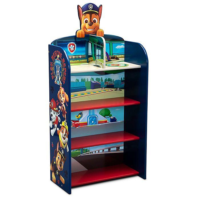 Alternate image 1 for Delta Children Nick Jr.™ PAW Patrol Wooden Playhouse 4-Shelf Bookcase