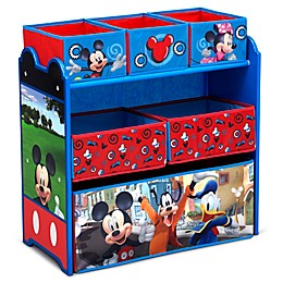 Delta Children Disney® Mickey Mouse 6-Bin Design and Store Toy Storage Organizer