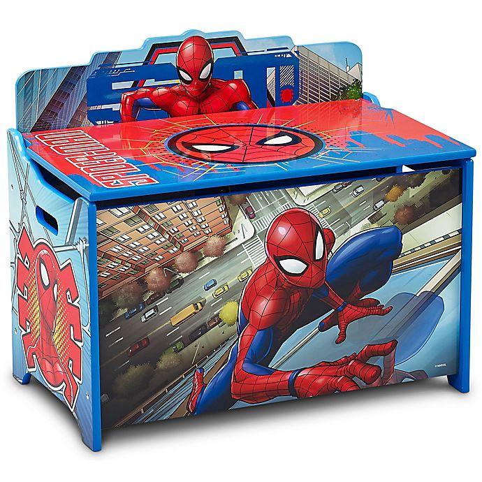 Alternate image 1 for Delta Children Spider-Man Deluxe Toy Box