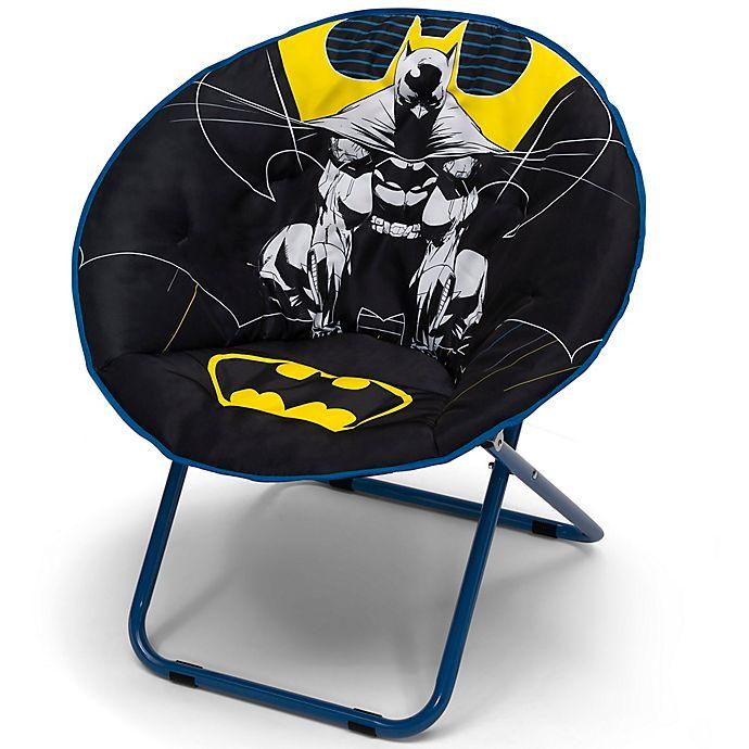 Alternate image 1 for Delta Children Batman Saucer Chair for Kids/Teens/Adults