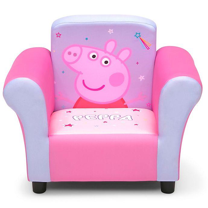 Alternate image 1 for Delta Children Peppa Pig Upholstered Chair
