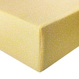 Copper Pearl Marigold Premium Crib Sheet