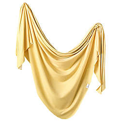 Copper Pearl™ Marigold Knit Swaddle Blanket