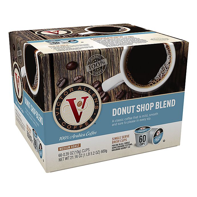 Alternate image 1 for Victor Allen® Donut Shop Blend Coffee Pods for Single Serve Coffee Makers 60-Count