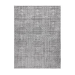 Madison Park® Charlotte Terni Geo Rug in Grey