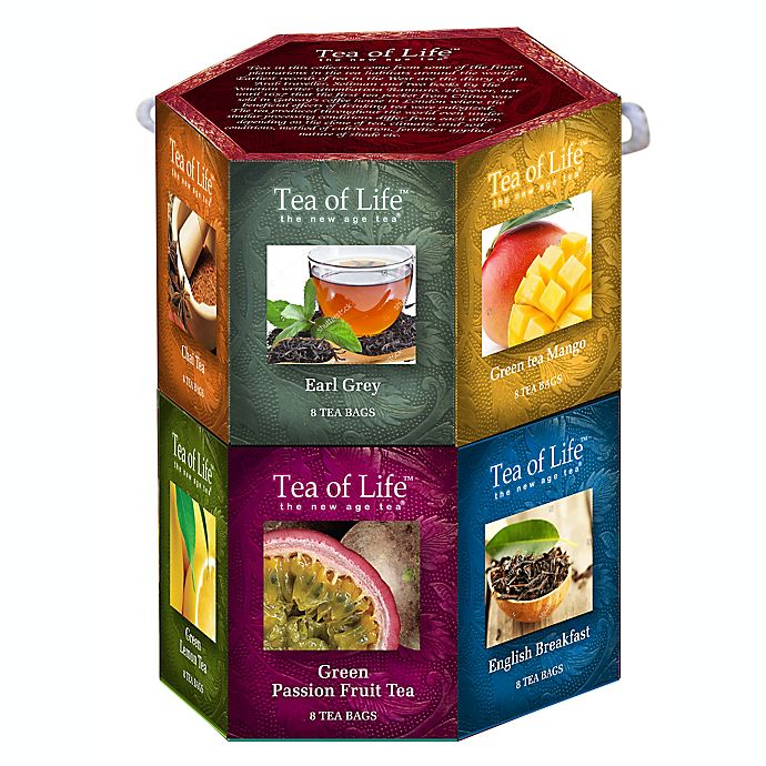 Alternate image 1 for Tea of Life 96-Count Tea Hexagon