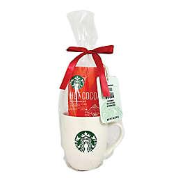 Starbucks® White Mug & Peppermint Cocoa Gift Set