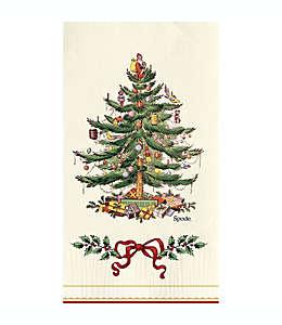 Servilletas de papel Spode® con diseño de árbol de Navidad en verde, 16 piezas