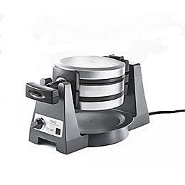 CRUX® Artisan Series Double Rotating Waffle Maker in Grey